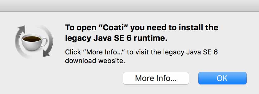 How to Install Legacy Java SE 6 Runtime on MacOS