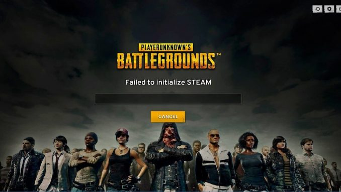 SOLVED: PUBG Failed to Initialize Steam Error