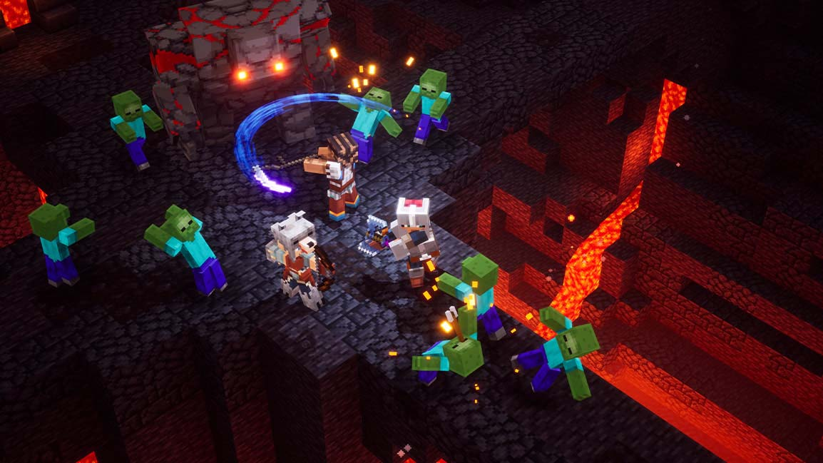 How to Use TNT in Minecraft Dungeons