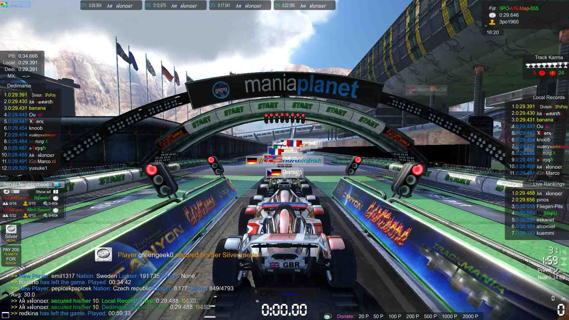 Fix TrackMania Nations Forever White Screen Issues, Graphical Bugs or Launching Problems