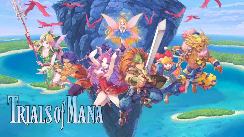Trials of Mana Unreal Engine D3D Device Lost/Controller Not Working