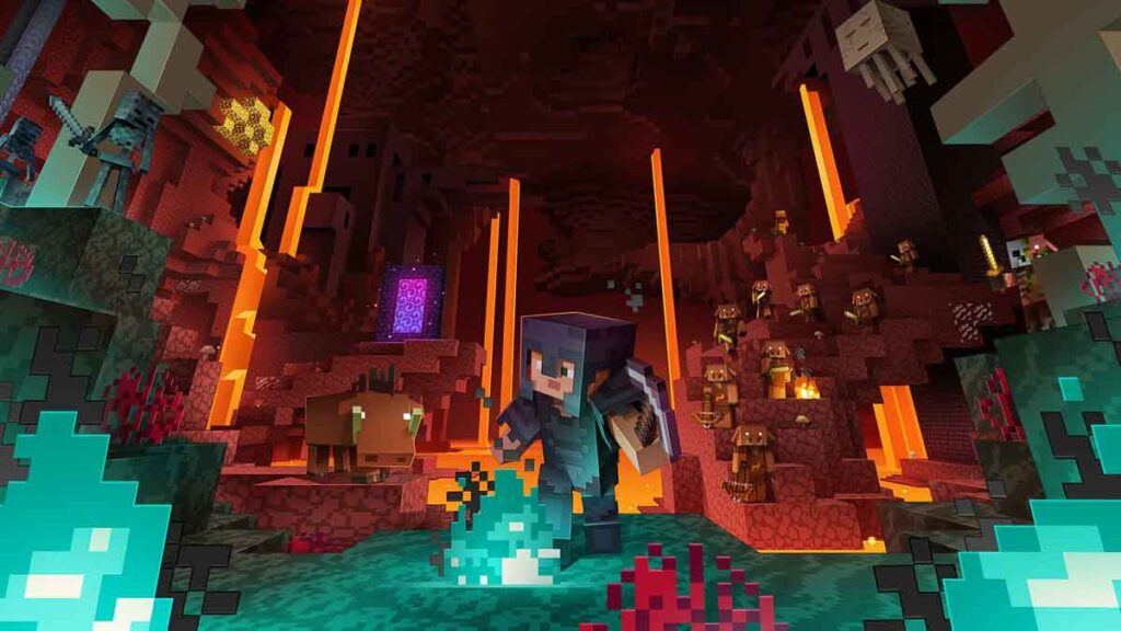 How to Get Netherite in Minecraft Nether