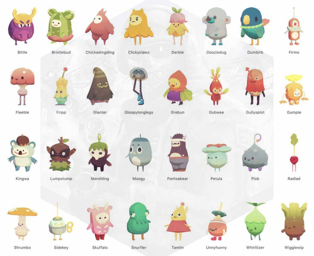 List of Ooblets