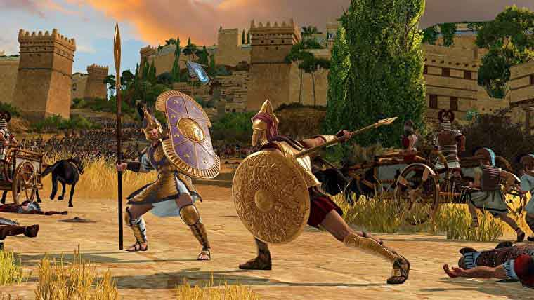 How to Increase Province Happiness in A Total War Saga: Troy