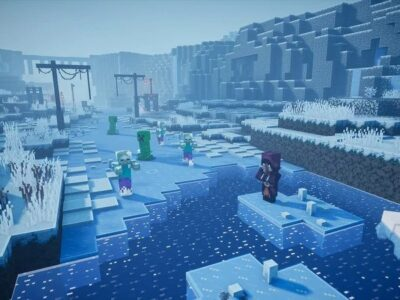 Lost Settlement Minecraft Dungeons Creeping Winters Secret Mission Guide