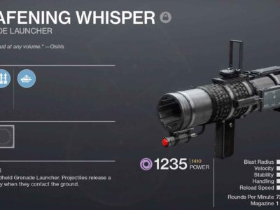 How to Get Deafening Whisper in Destiny 2