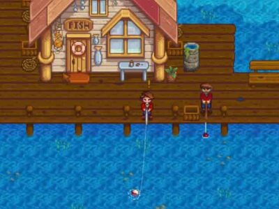 How to Use or Equip Bait on Fishing Rod in Stardew Valley