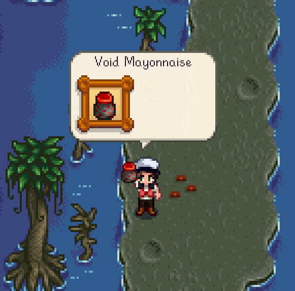 "Stardew Valley ""Goblin Problem"" Quest Guide - Void Mayonnaise Witch's Swamp"