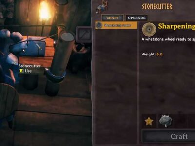 Valheim – How to Make the Stone Cutter