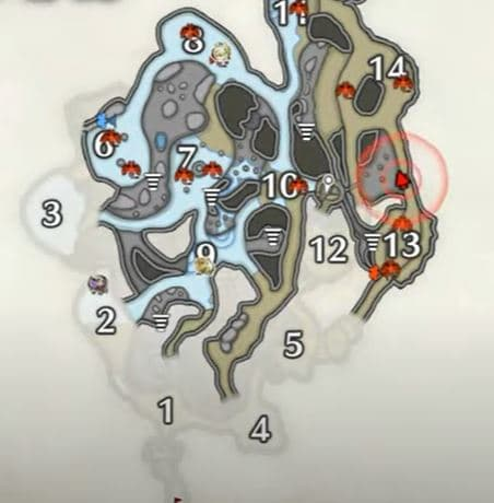 Lava Caverns Relic Record 4 – Between Area 13 and 14