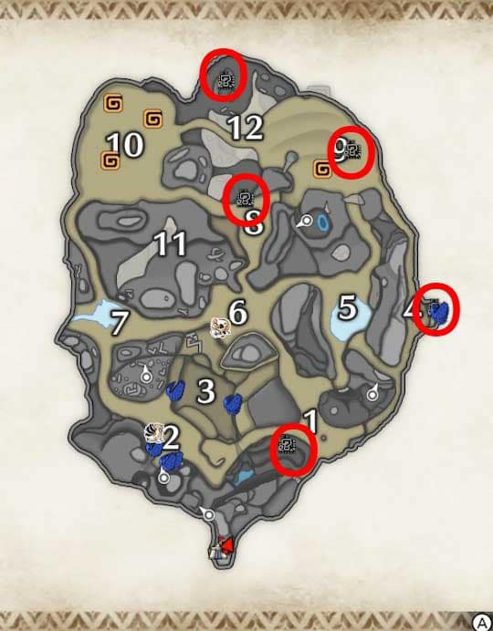 MH Rise Eroded Husk Location