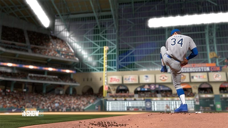 MLB The Show 21 – How to Pickoff a Runner