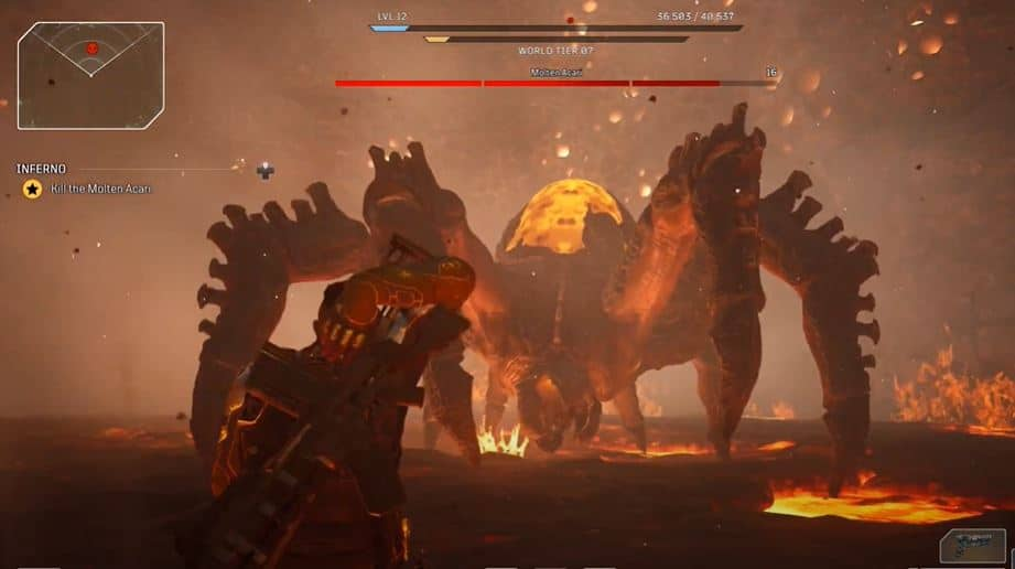 Molten Acari Stage 2 - Outriders
