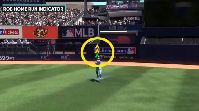 Rob Home Runs Indicator in MLB The Show 21