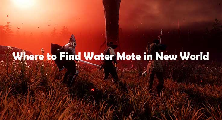 New World - Where to Find Water Mote