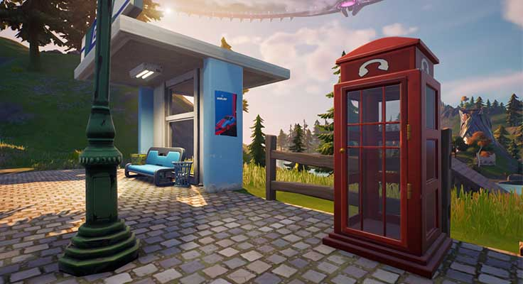 Fortnite Superman or Clark Kent Phone Booth Quest Not Working