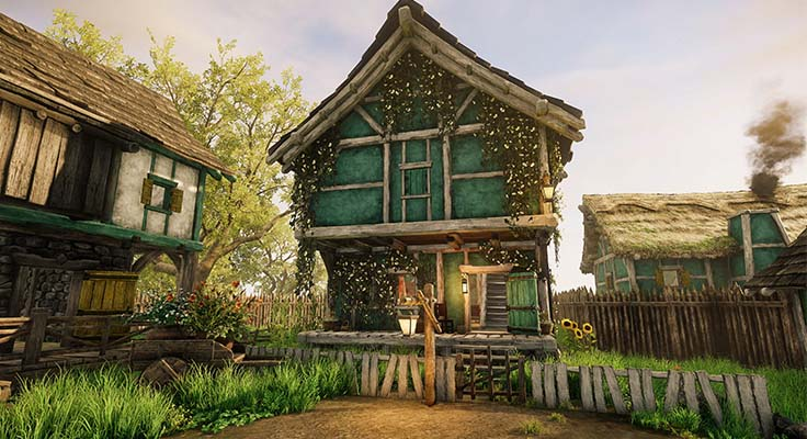 New World How to Buy and Customize a House