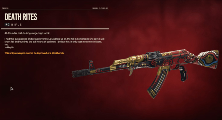 How to Get the Death Rites Rifle in Far Cry 6