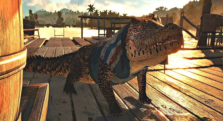 Where to Find Crocodiles Locations in Far Cry 6
